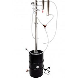 Destylator elektryczny zimne palce keg 30l - kolumna typu REFLUX wewnętrzny