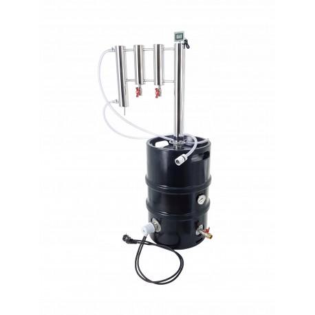Destylator elektryczny POT-STILL KEG 50l kolumna z dwoma odstojnikami