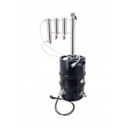 Destylator elektryczny POT-STILL KEG  30l kolumna z dwoma odstojnikami