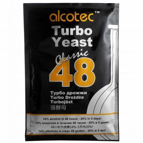 Drożdże gorzelnicze Alcotec 48 classic turbo 21%